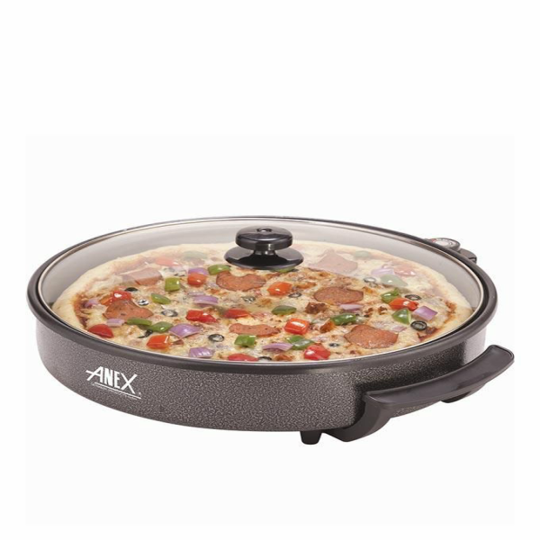 Anex AG-3064 Pizza Pan and Grill 40CM Black Brand